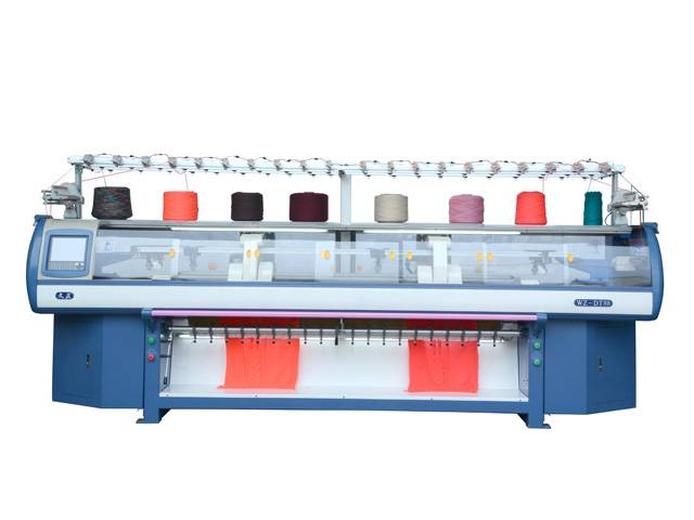 Fully automatic high speed variable dynamic computerized flat knitting machine