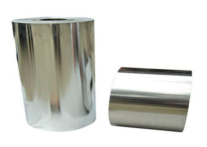 Food Packing Bright 8011 Aluminium Foil Roll , 0.008mm - 0.025mm