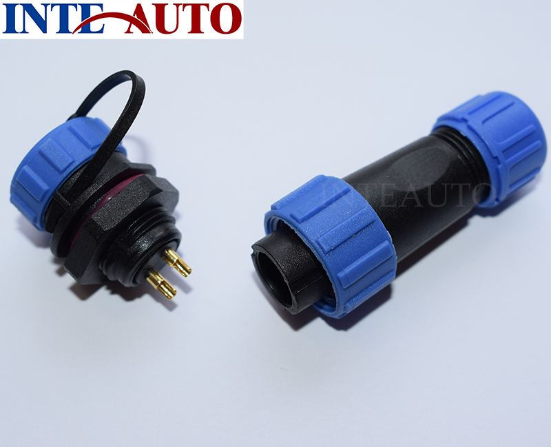 WEIPUSP1310, 5 pin waterproof connector, Power wire cable connectors , automotive connectors, Plug a