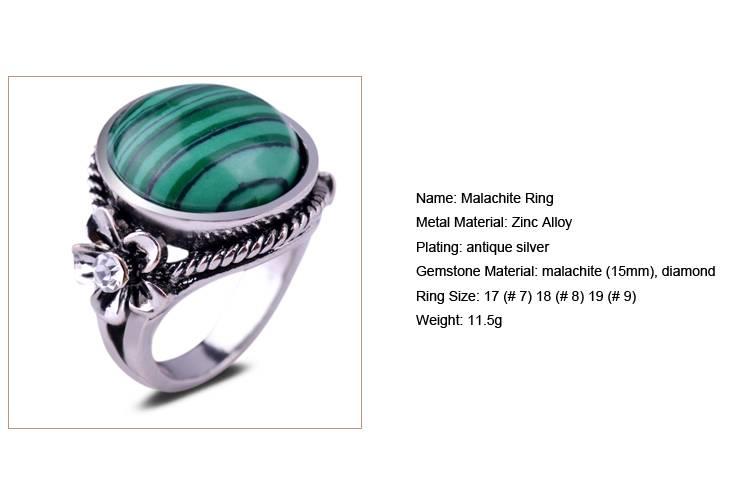 Malachite Ring /CT-R0007