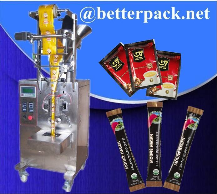 BT-60F Instant coffee packaging machine 3 in 1 coffee packs machine