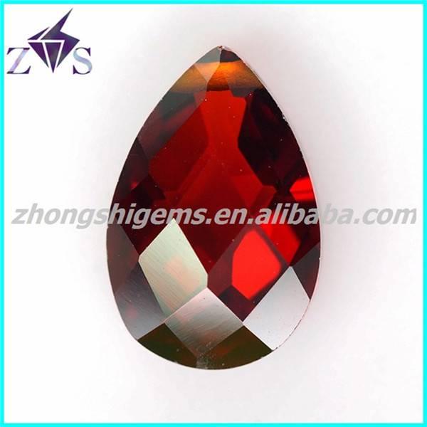 Fancy Garnet Pear Cut Precious Stone