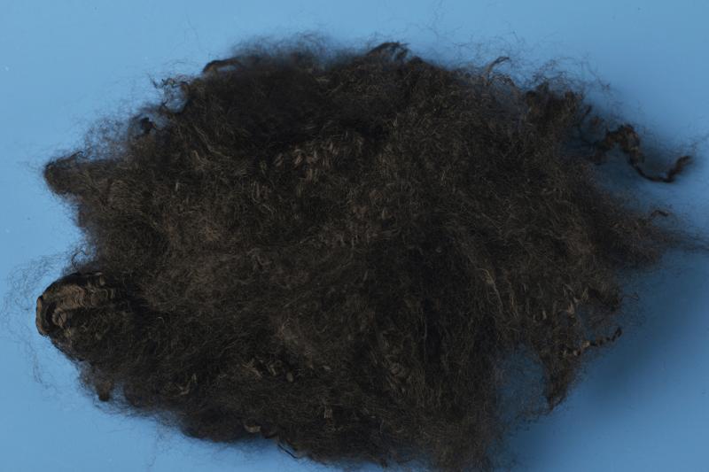 Black virgin polyester staple fiber