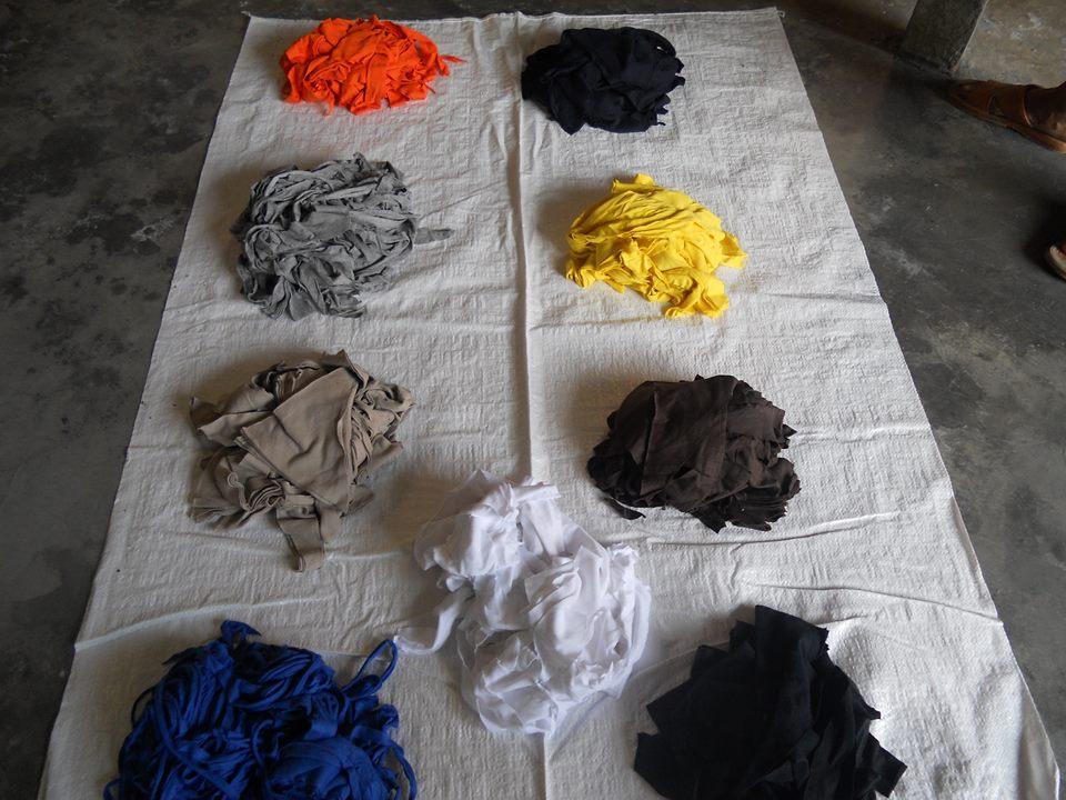 Mixed Color 100% Cotton Clips