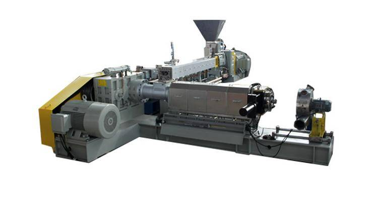 Two-Stage (Twin Screw/Single Screw) Compounding Extruder Set (TEC75-180)