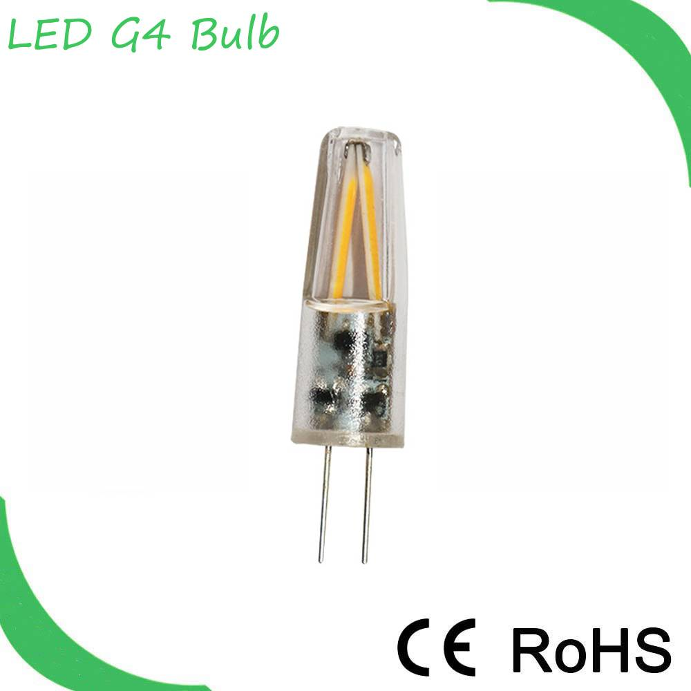 Hot Sales g4 cob led filament g4 led bulb 12v