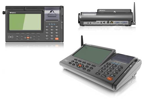 Intelligent terminal--IDT700 7inch touch POS