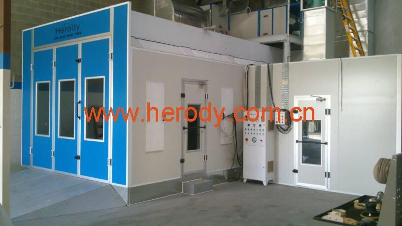HD-3700VT Spray Booth VFD control