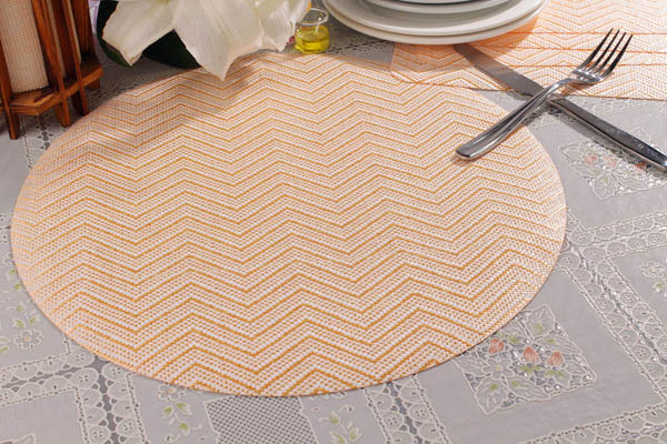 Round Dining Woven Table Mats