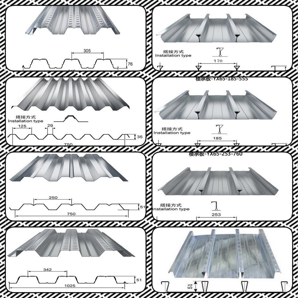 Cheap corrugated steel sheet plate