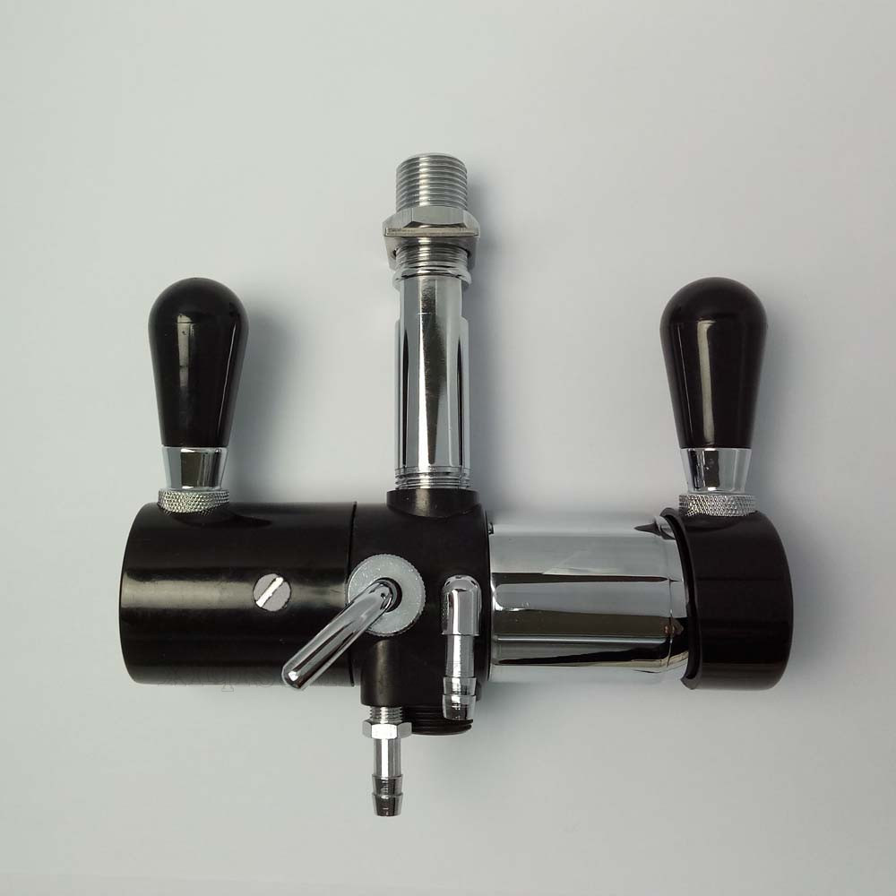 Stainless Steel beer filling tap with regulator