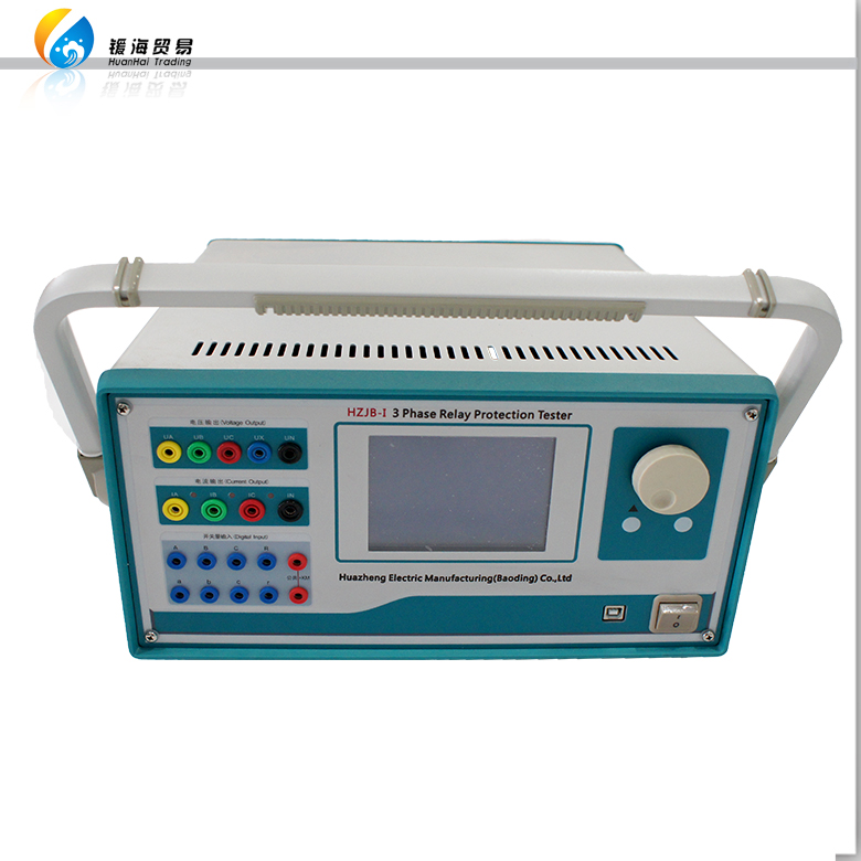 HZJB-1 Secondary Current Injection Relay Test Set 3 Phase Protection Relay Tester