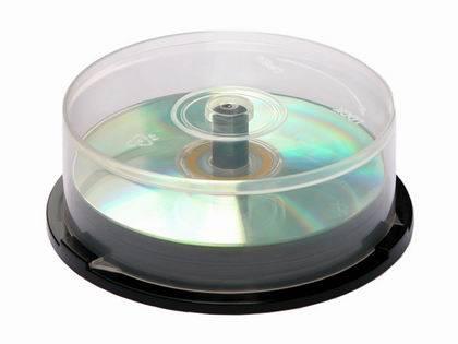 Cake box for 25 Disks
