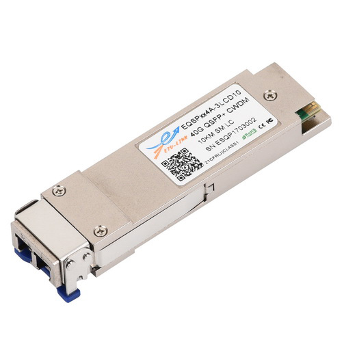 40G CWDM SM 10KM QSFP+ Optical Transceiver