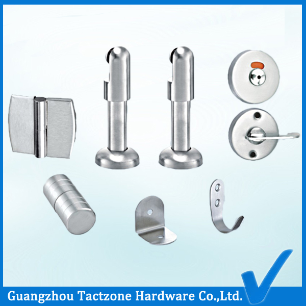 Factory Directly Restroom Cubicle Hardware Toilet Partition Set