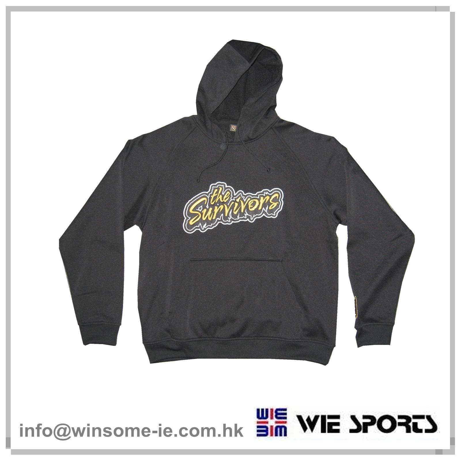 Applique hoodie