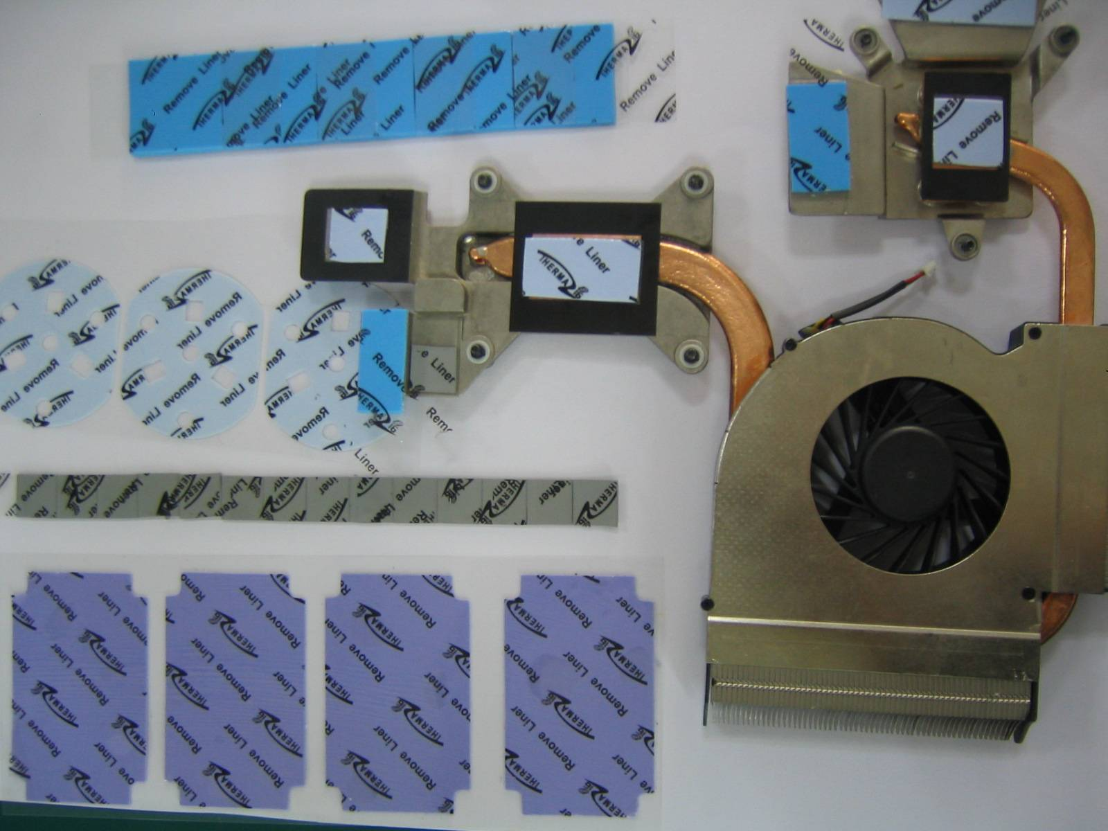 Thermally conductive interface materials