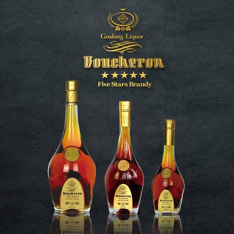 Top sales liquor brandy manufacturer with ISO FDA QS