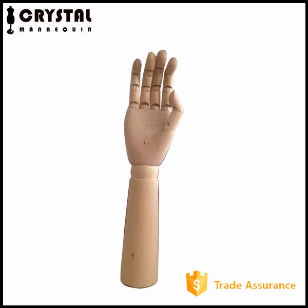 wooden display mannequin hand