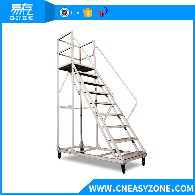 Easyzone 2m steel warehouse step ladder