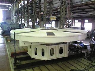 Floor Turntable Positioner