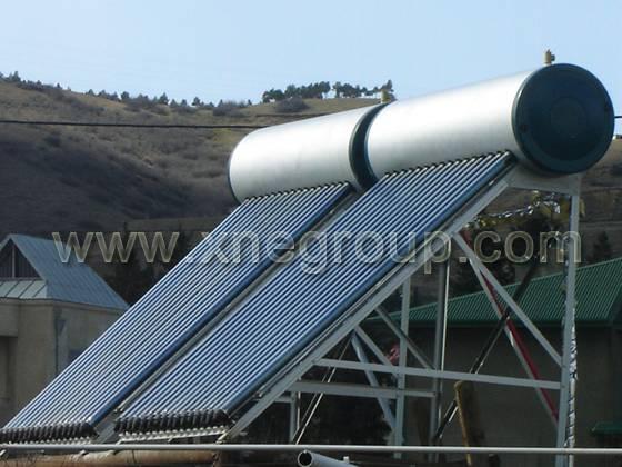 Porcelain Enamel Pressurized Heat Pipe Solar Water Heater