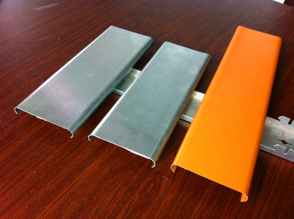 Wooden Coating Waterproof 1.0mm Building Material Aluminum Perforated Solid Panels
