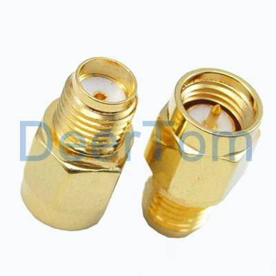 SMA Male to SMA Female Adaptor Adapter RF Connector Adapter