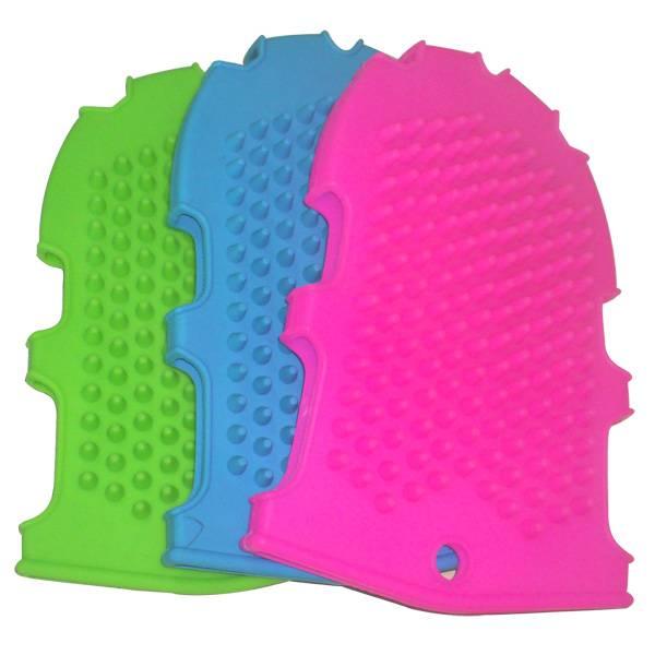 HOT SELLING Silicone Massage Bath Gloves Silicone Massage Glove