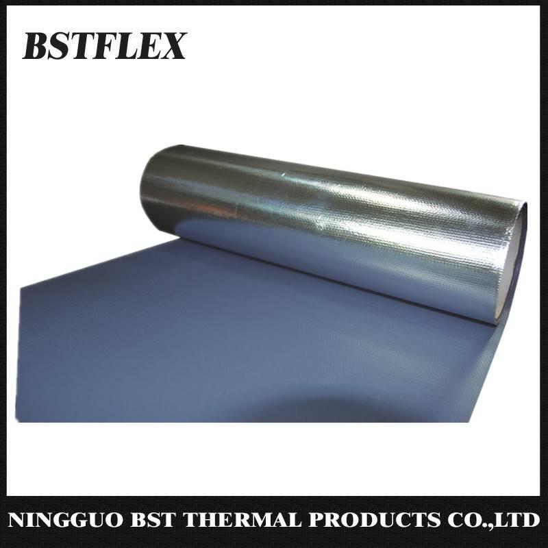 Aluminum Silione Coated Fiberglass Heat Reflective Fabric