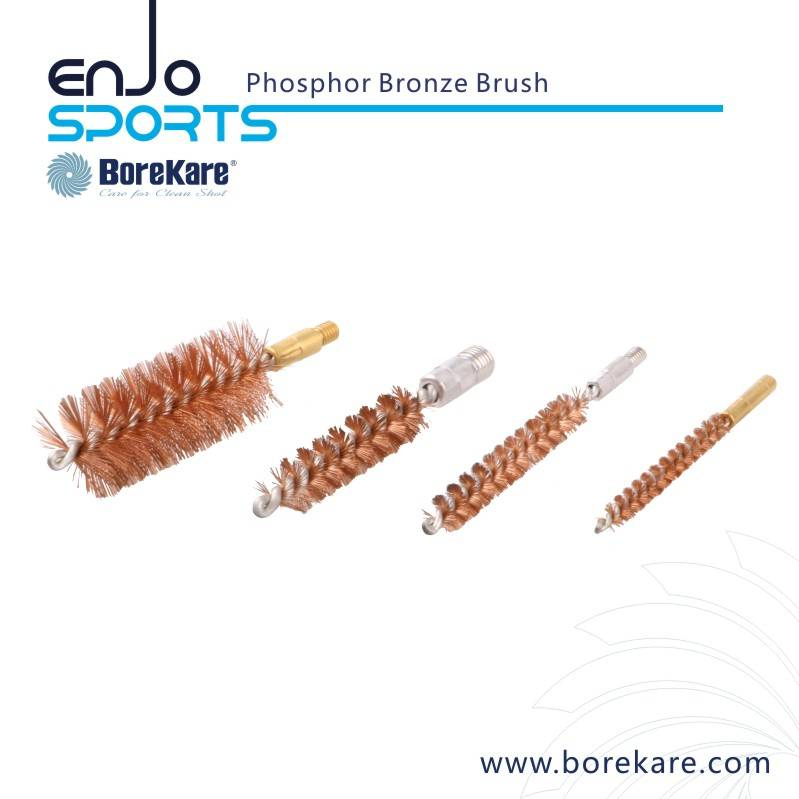 Borekare Gun Cleaning Phosphor Bronze Bore Brush for Shotgun