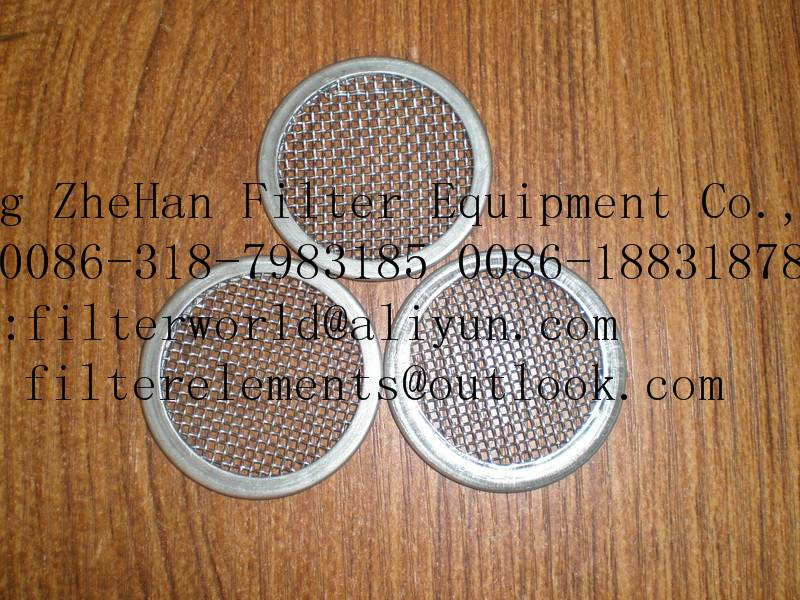 filter disc filter plate stainless steel filter element