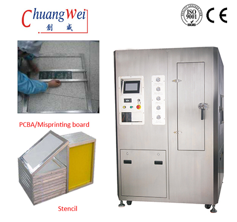 CW-800 Characteristics of Water - based Steel Mesh Washing Machine