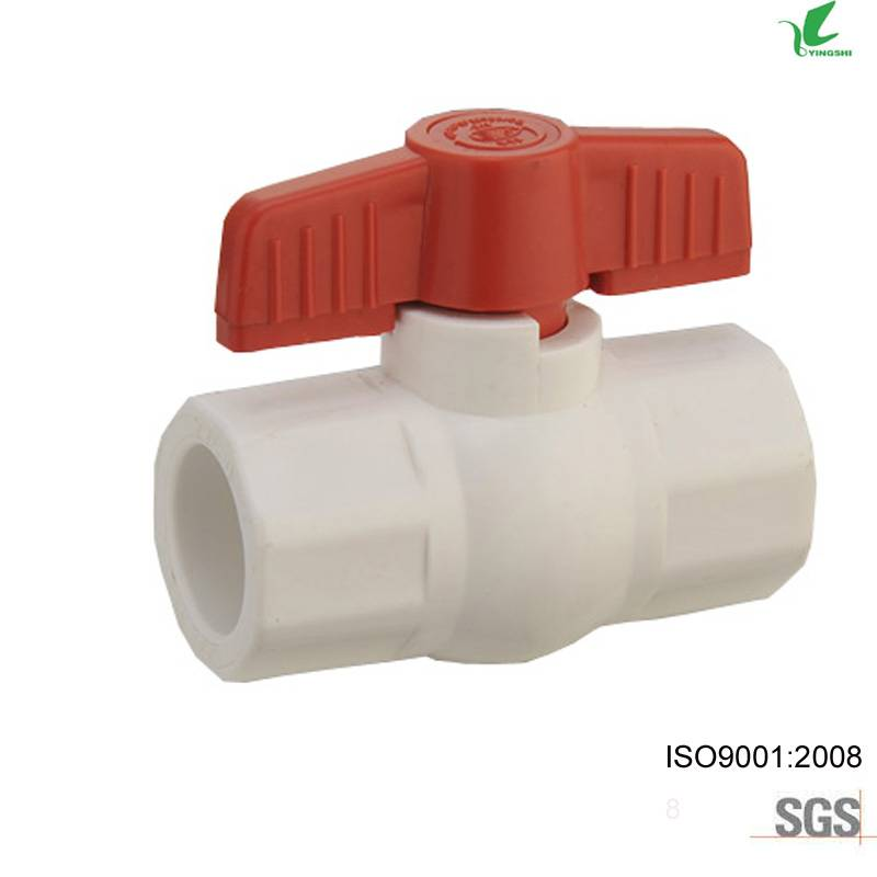upvc octagonal ball valves