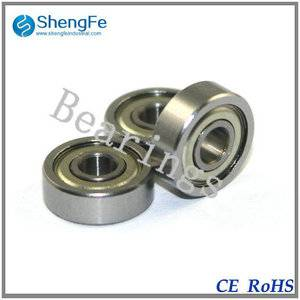 1605ZZ Ball Bearings 7.938*23.019*7.938 mm