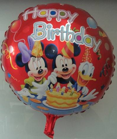 foil minnie and mickey mouse balloon