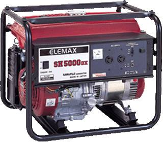 Elemax generator (SH5000DX)