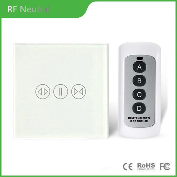 RF 433 curtain switch remote control curtain