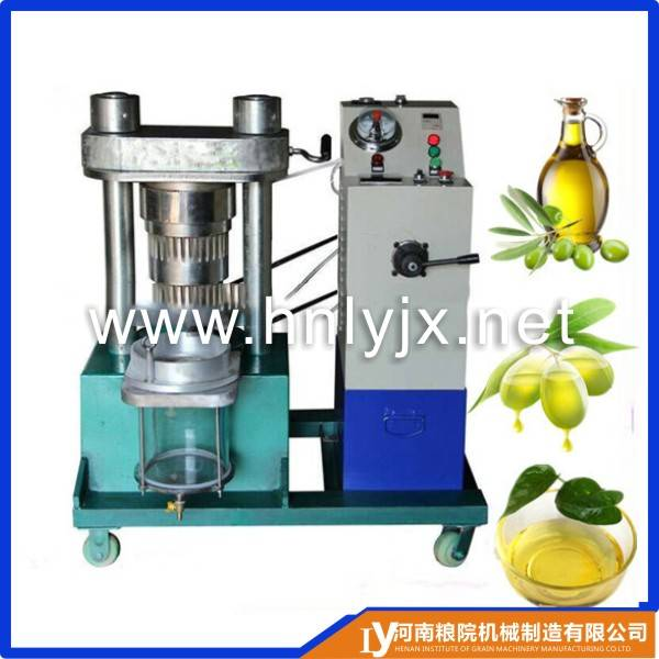 olives hydraulic oil press machine