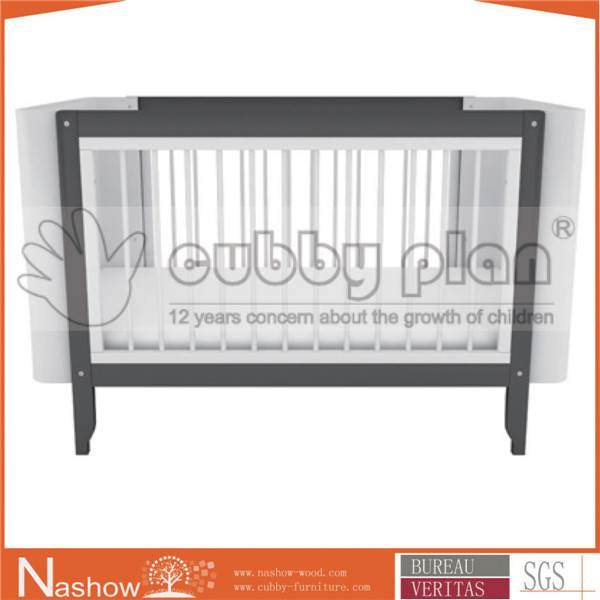Cubby Plan LMBC-004 Functional 3 in1 Wooden Baby Crib
