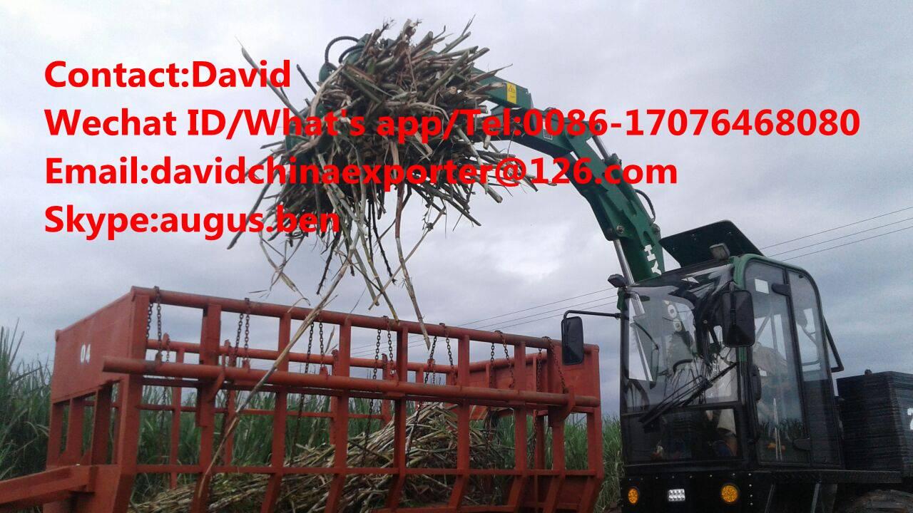 John Deere high reach loader