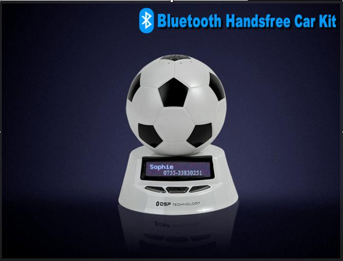car bluetooth kit with caller English name and ID display in With characteristic design
