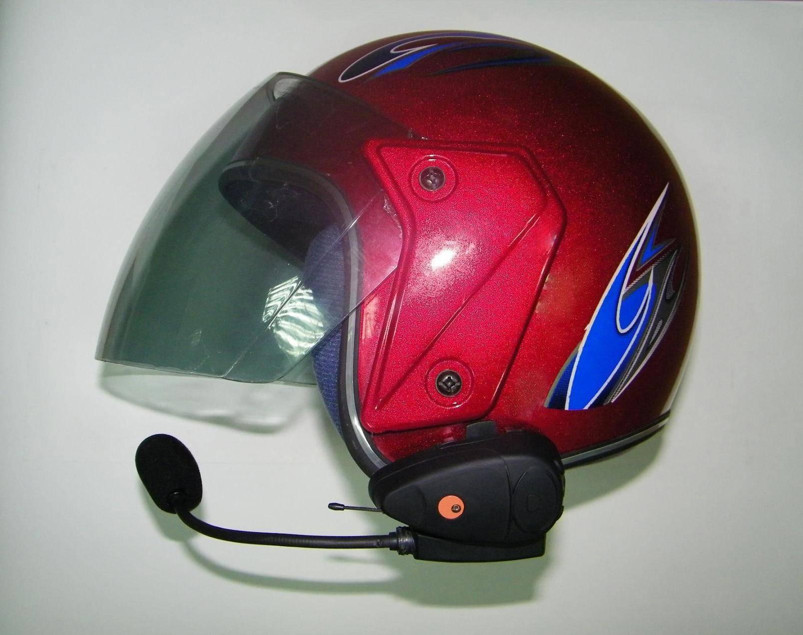 Motorcycle bluetooth helmet intercom headset BT-9081