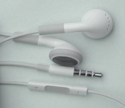 Apple iphone earphone with remote and mic