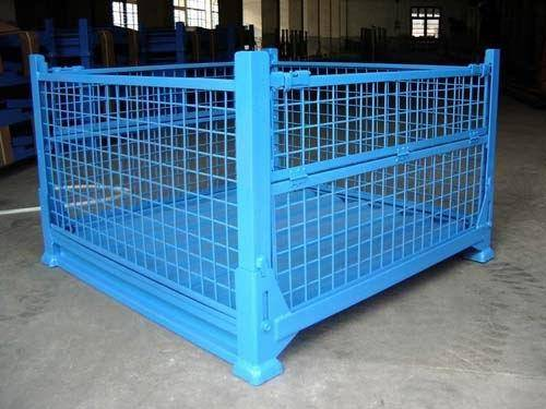 PVC-coated metal warehouse cage storage CAGE  (FOR MARKET OR WAREHOUSE) manufacturer direct sale