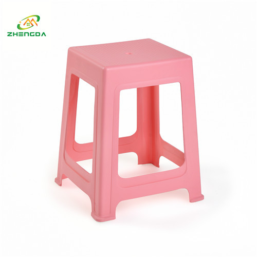 portable office stool home use plastic stacking stools
