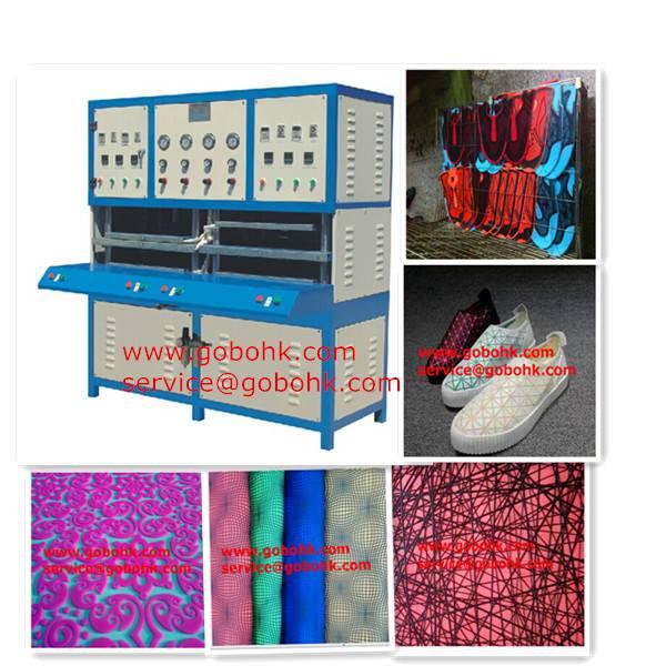 New hot kpu sports shoe cover pressing machine