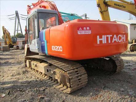 Used Construction Machine Used Hitachi EX200-2 Crawler Excavator