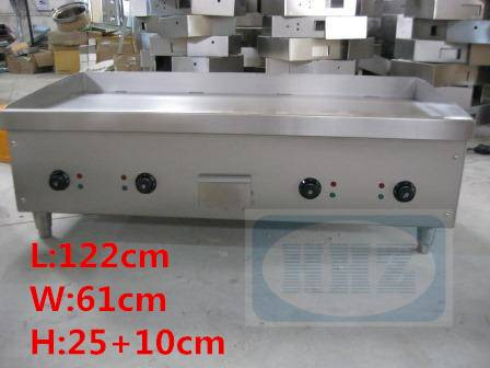 Stainless steel big Electric griddle/ table top flat plate big griddle-- E48