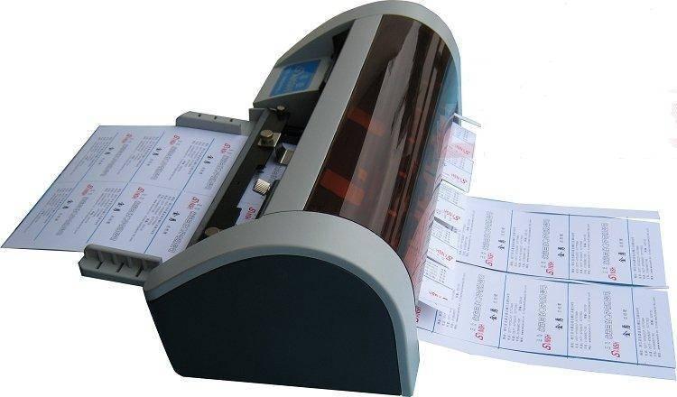 Automatic card cutter